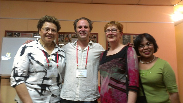 p15-nsw-nenita-6Multicultural Radio conference with l-r Professor Tangi Barbara Baxter and yours truly
