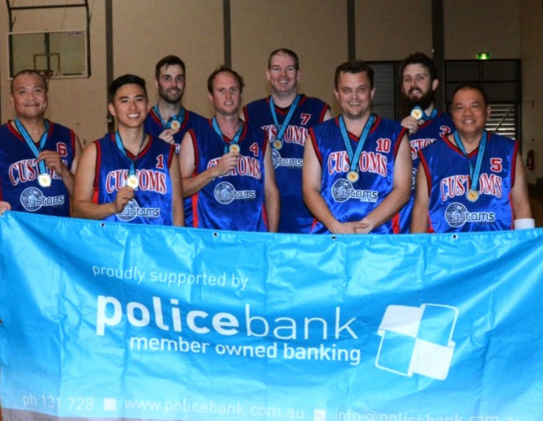 p43-sport-mon-12014 Police Games MENS Champion ACBPS CUSTOMS NEWS