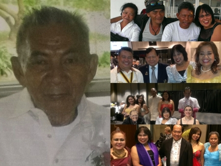 1. Obituary: Simeon M. Lopez 03.09.1923-20.05.2015. Beloved Husband of Consolacion (Dec). Love Father of: Erlinda, Rogelio (Dec), Aurea, Eduardo (Dec), Nenita, Ceferino, Placido, Brigida, Medardo, Veronica & Elvira. Loved son of Benito & Melitona (Dec). Loved Grand & Great Grand, Great, Great Grand. Loved Brother of Lomer, Tansing (Dec), Paran, Olim (Dec), & Boy. Oved Brother n Law, Cousins & Uncle. 2. Some of my long lost cousins: Carmelita, Saturnino, Tony and Yours truly. 3. We were there PCCNSW National Ball Rosehill Garden: Max Lopez, Cr Jess Diaz, Yours truly and Lourdes Kaiser. 4. Attending PCCNSW Ball at Rosehill Grand Pavilion: Linda, Amy, Vic Avila, Mila, & Ross. Seated: Ellis David, Nenita & Roslyn Wilesmith-Perrott 5. We were there PCCNSW Ball at Rosehill Garden: Neria, Nenita, Dr Soliman, a friend & Carmelita.