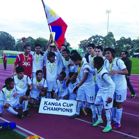 Filipinos were Champions at the International Kanga Football Cup in Canberra