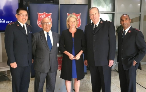 The Hon. Fiona Nash, Minister for Regional Development, to launch The Salvation Army Red Shield Appeal to Multicultural Communities