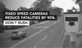 MORE SPEED CAMERAS REDUCE FATALITIES BY 90%
