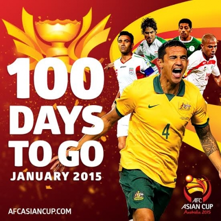 AFC ASIAN CUP IS 100 DAYS TO GO