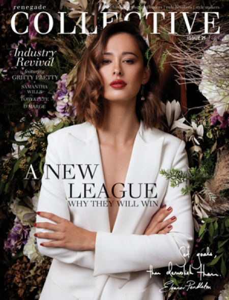 ELEANOR PENDLETON FRONTS  SEPTEMBER COVER OF THE  COLLECTIVE MAGAZINE