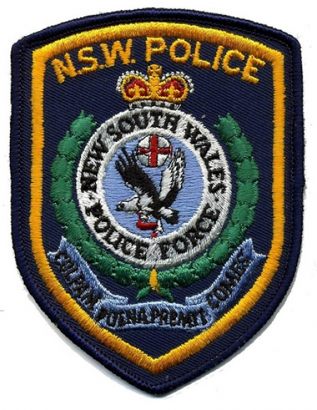 NSW Police insignia. Photo from flickriver.com