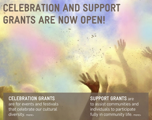 Celebration and Support Grants now open!