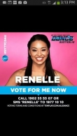 "FIL AUSSIE RENELLE IS IN THE FINALS OF CHANNEL 10's "" SO YOU THINK YOU CAN DANCE TONIGHT"
