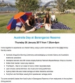 Celebrate Australia Day at Barangaroo Reserve.  More info at www.barangaroo.sydney